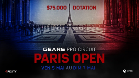 Gears Of War 4 - Gear Pro Circuit Paris Open