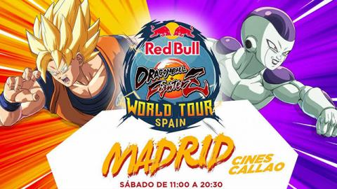 Red Bull Dragon Ball FighterZ World Tour Spain